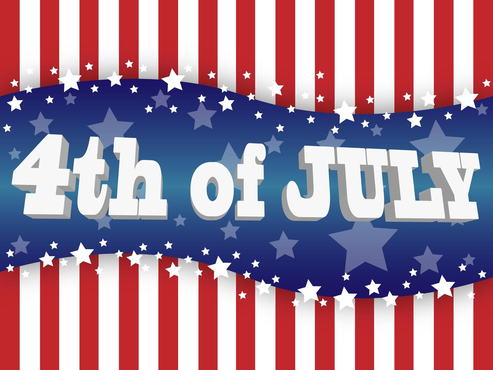 4th July Independence Day 2013 Free Greeting Cards Free Printable