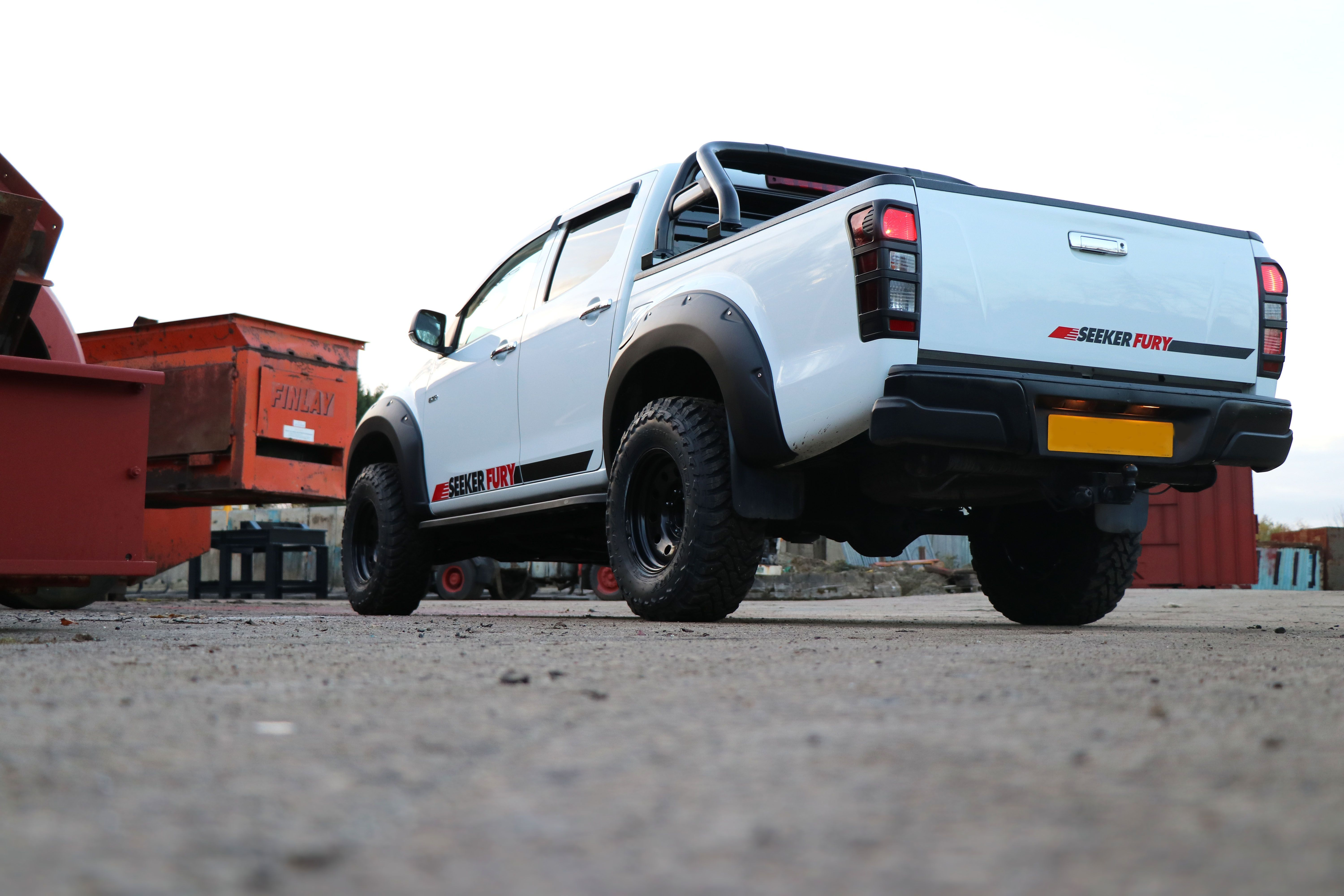 aa6f5c83976170 The SEEKER Fury Edition - a conversion for the Isuzu D-Max!