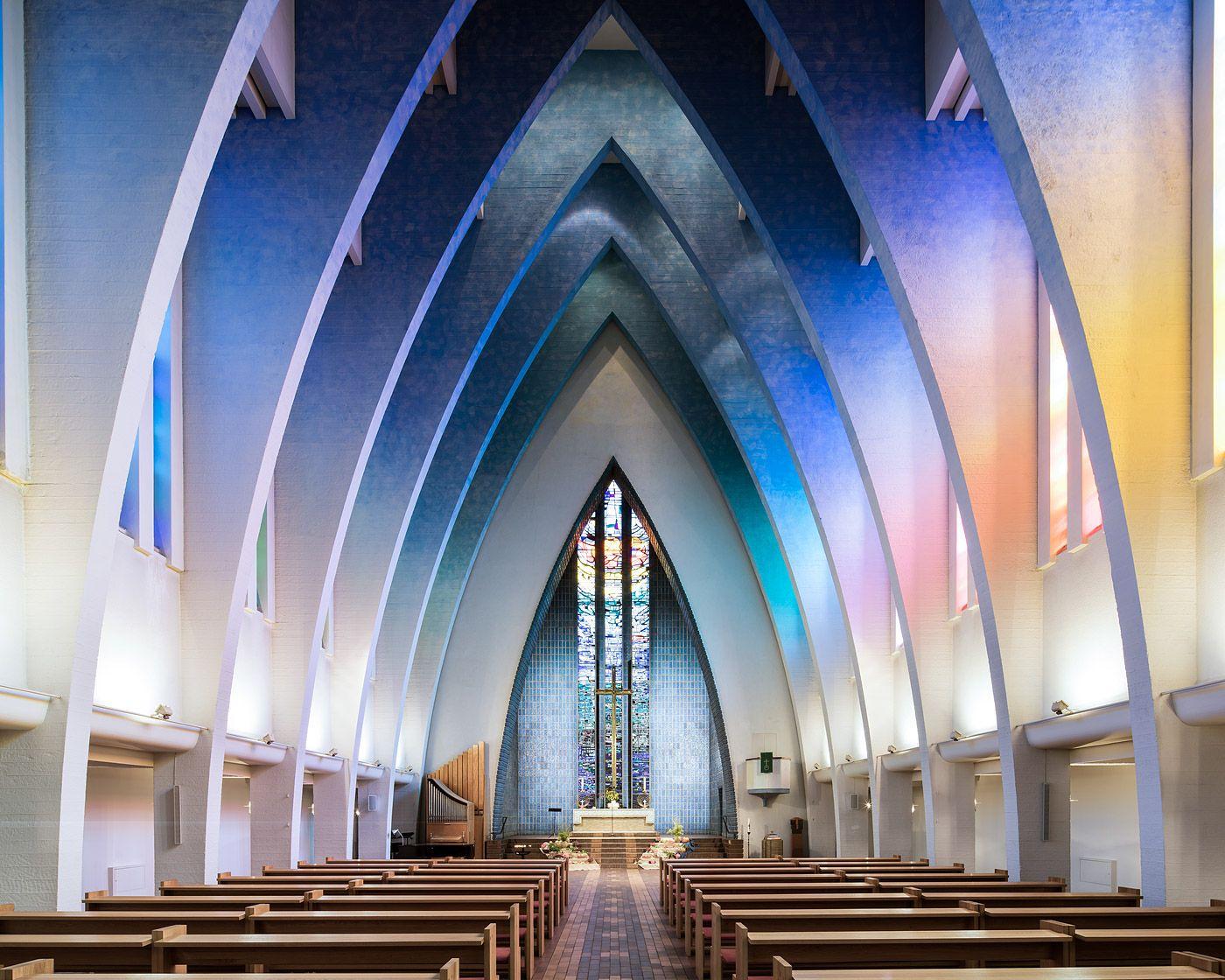 Architecture Photography Series hohenzollernplatz church, from berlin interiors series