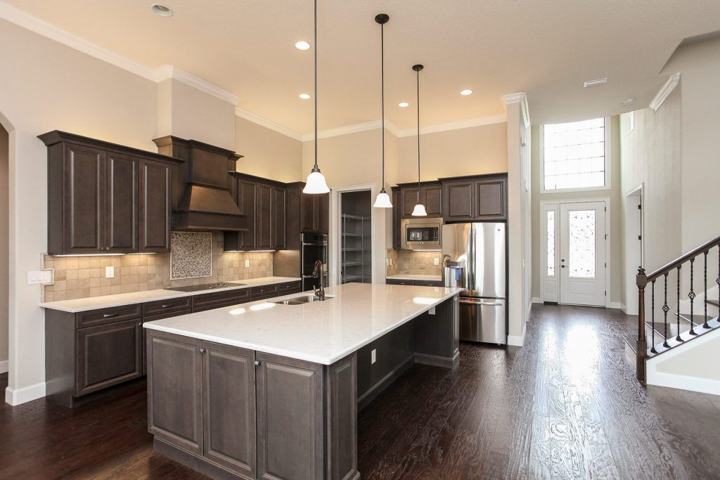 New Kitchen Construction With Marsh Cabinets Stanisci Hood And Cambria Countertops Ki Kitchen Construction Kitchen Decor Modern Cambria Countertops Kitchen