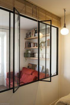 verriere interieur avec fenetre qui s 39 ouvre recherche google deco pinterest verri re. Black Bedroom Furniture Sets. Home Design Ideas
