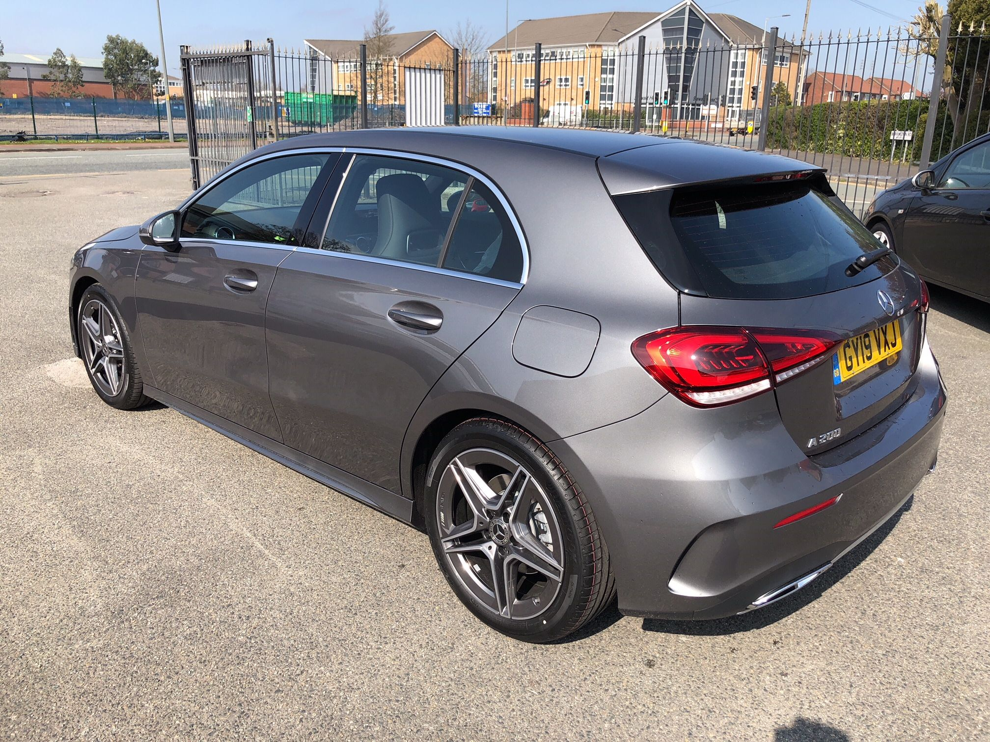 The Mercedes Benz A Class Hatchback A200 Amg Line 5door Auto Car