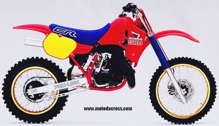 Honda Cr 500 Dal 1973 Al 2007 Honda Dirt Bike Motorcycle Dirt Bike Honda Cr