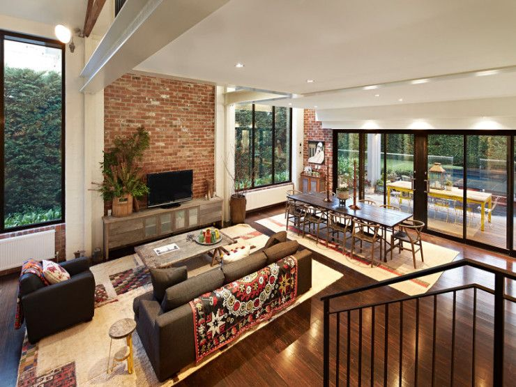 Stunning Sunday: Warehouse conversion for sale in Hawthorn, Melbourne
