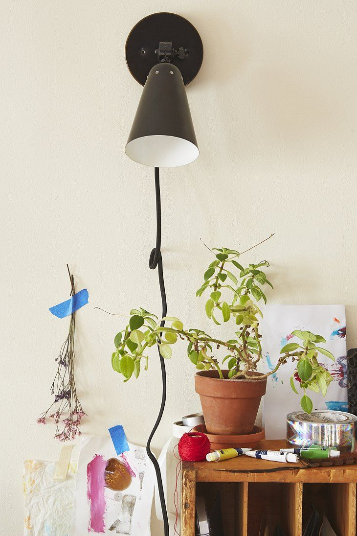 Simple Cone Sconce