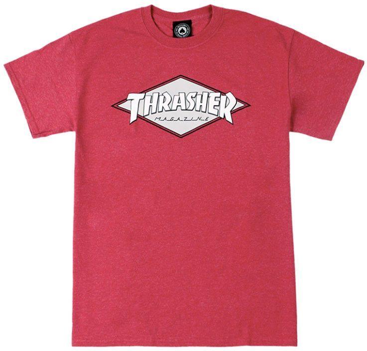 c29e0b8f70 Thrasher OG Diamond T-Shirt | Men's Shirts | Diamond t shirt, Shirts ...