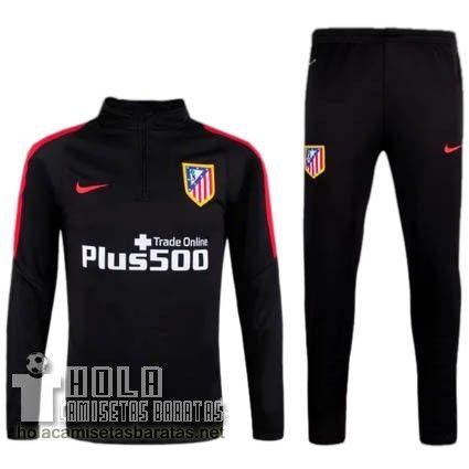Nike Entrenamiento Chandal Negro Atletico De Madrid €32.9 ... 58cea7b269479