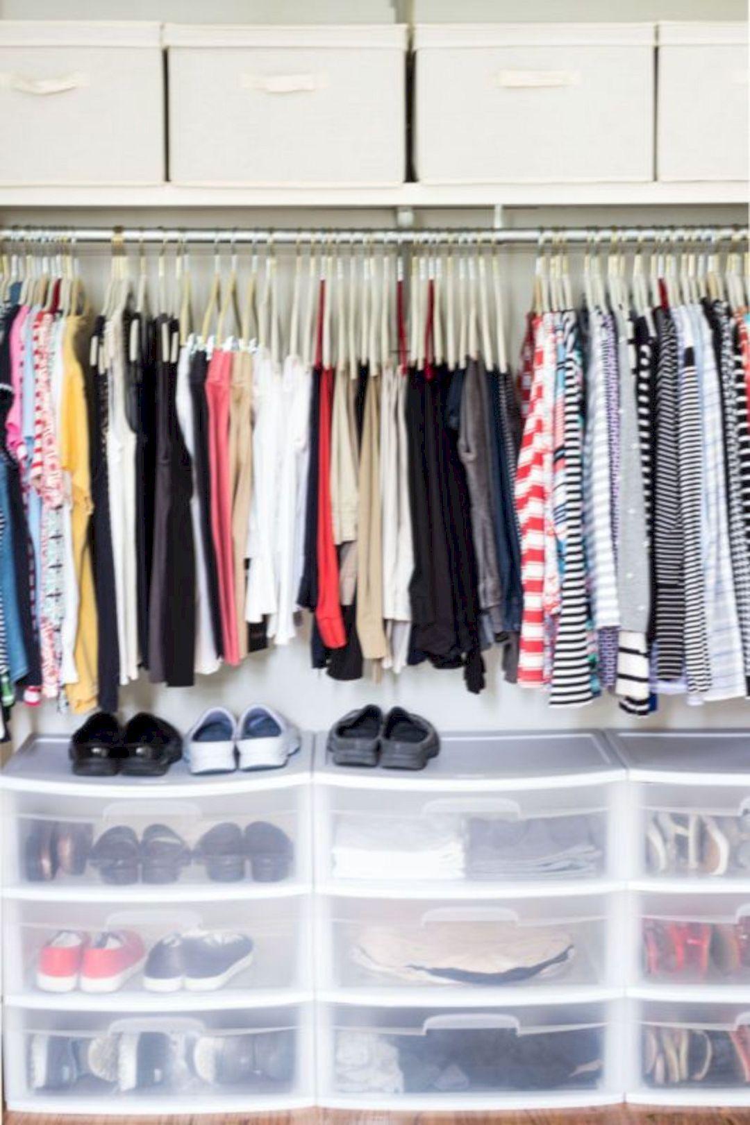 25 Nice Closet Storage Ideas  Dorm room closet, Dorm diy, Dorm