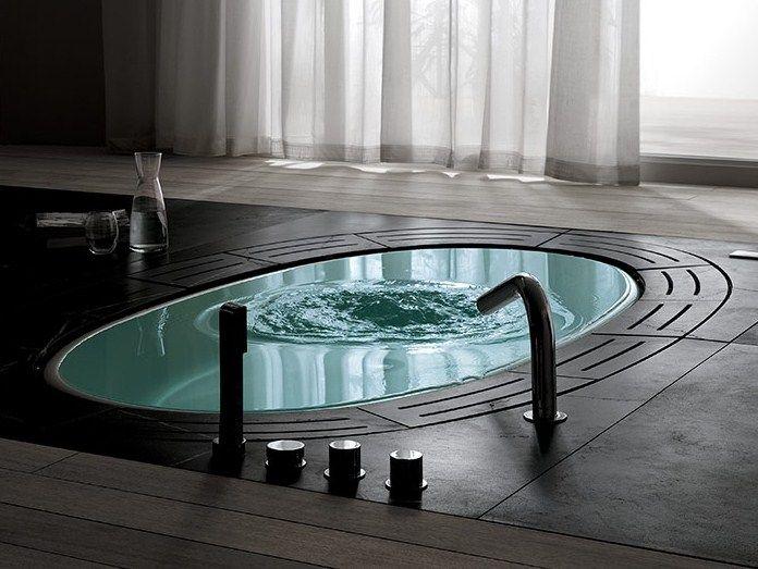 einbau- whirlpool badewanne sorgente - teuco | bad - wanne | pinterest - Whirlpool Badewanne Sorgente Teuco