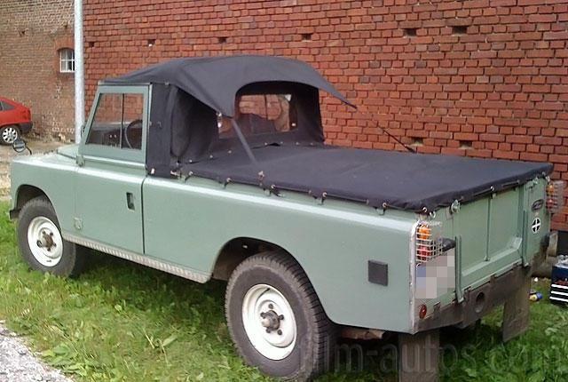 oldtimer land rover serie iii 109er zum mieten landy. Black Bedroom Furniture Sets. Home Design Ideas
