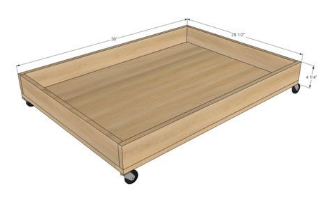 Build For Under Bed Shoe Storage Ana