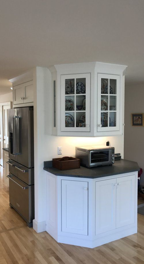 Authentic Elegance Custom Kitchen with Tiger Maple and ...