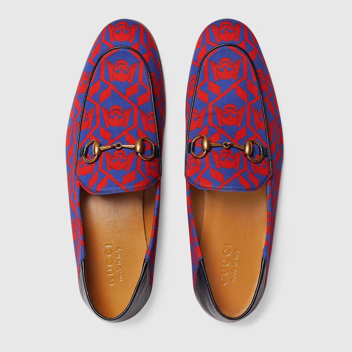 f77be2ded Gucci Geometric Skulls print loafer | The art of fashion in 2019 ...