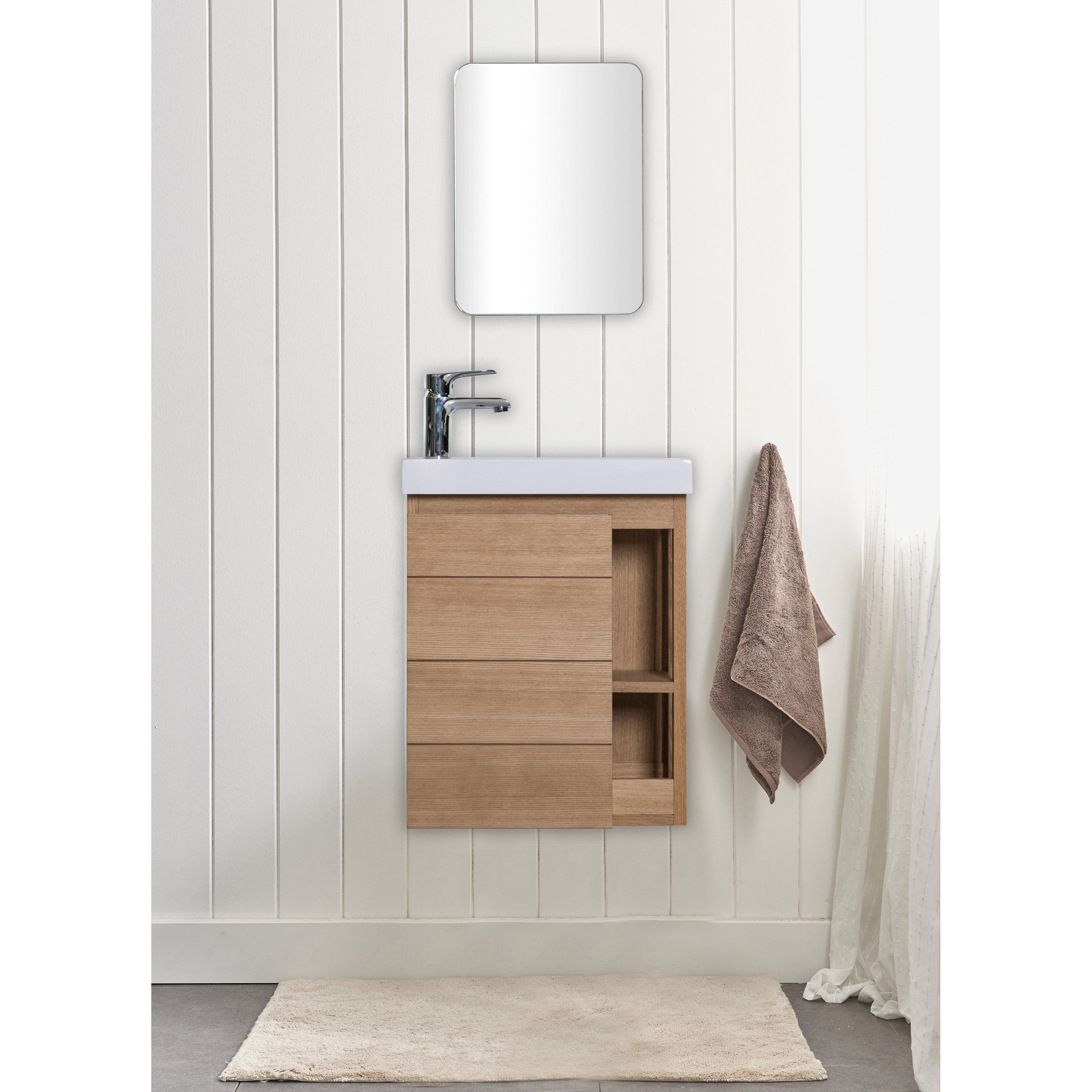 Epingle Par Scott Kuhn Sur Powder Room Remodel En 2020 Meuble Lave Main