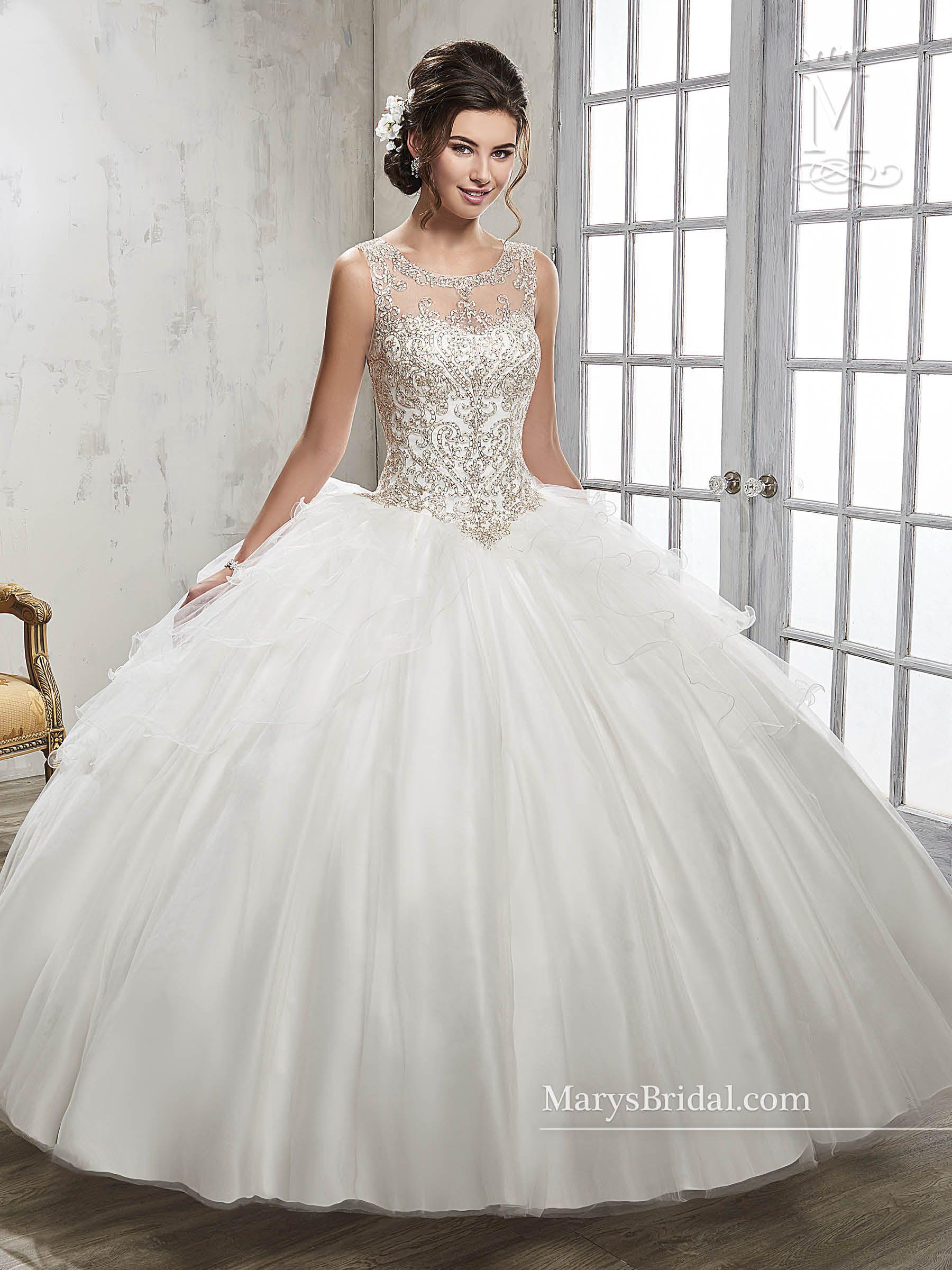 Style 4Q510 Strapless wedding dress mermaid, White