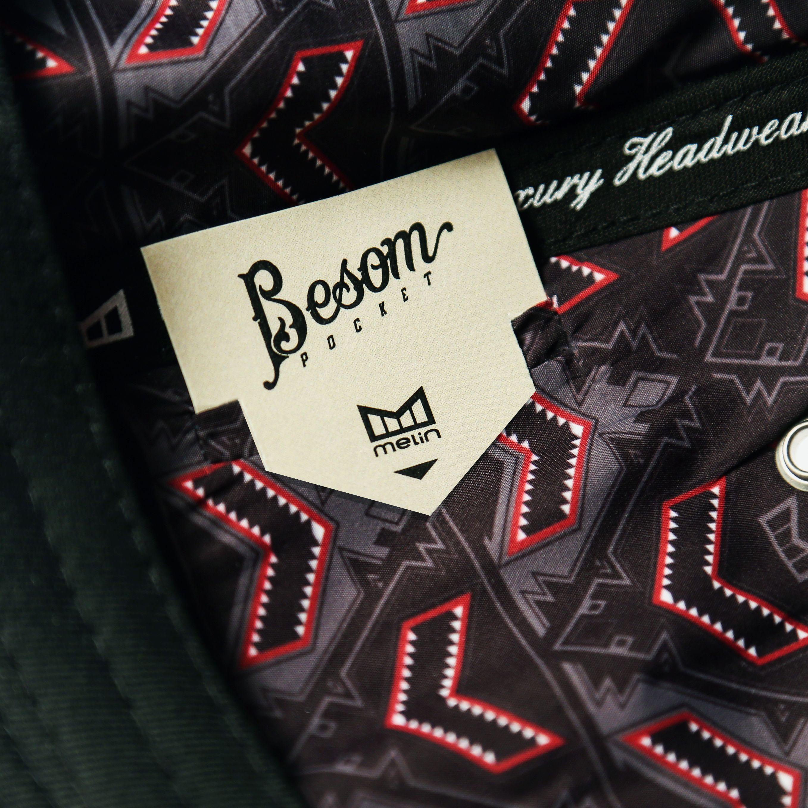 "Moisture Wicking Lining + Hidden ""Besom"" Stash Pocket III Luxury I Snapback I Hat I Hats I Melin Brand"