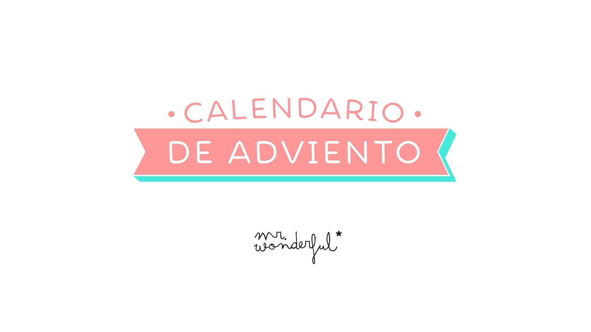 Calendario de adviento de Mr.Wonderful