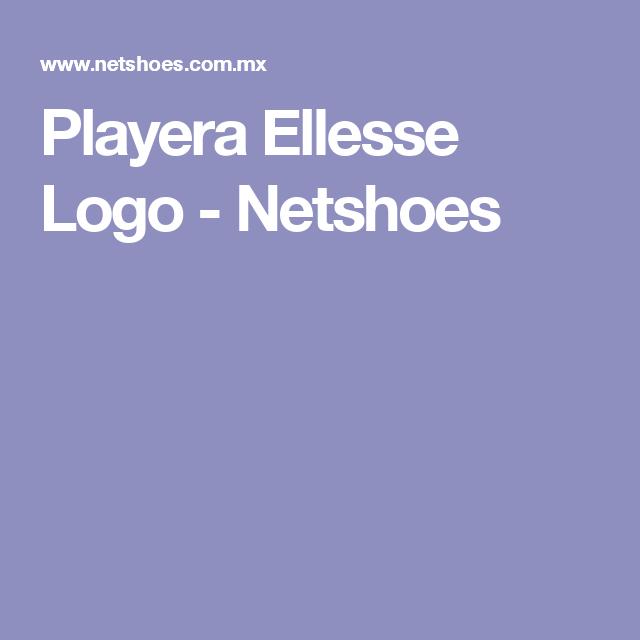 Playera Ellesse Logo - Netshoes