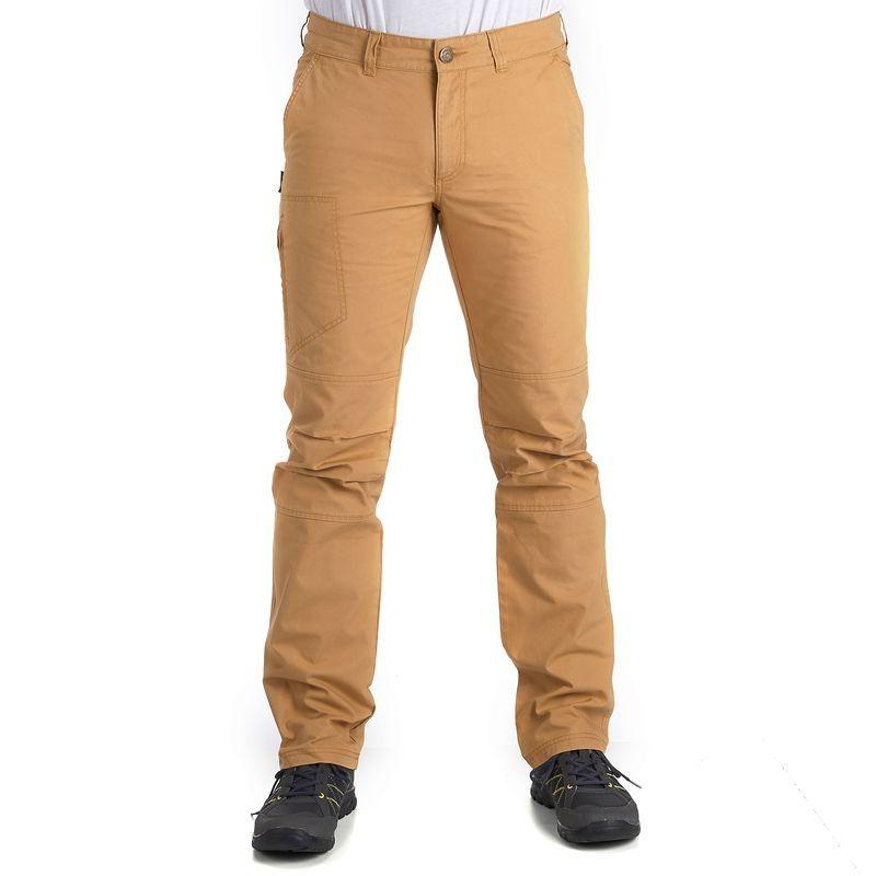 0970928bbc4 RANDONNEE Habillement Homme Vêtements - Arpenaz 100 homme ocre QUECHUA -  Vêtements