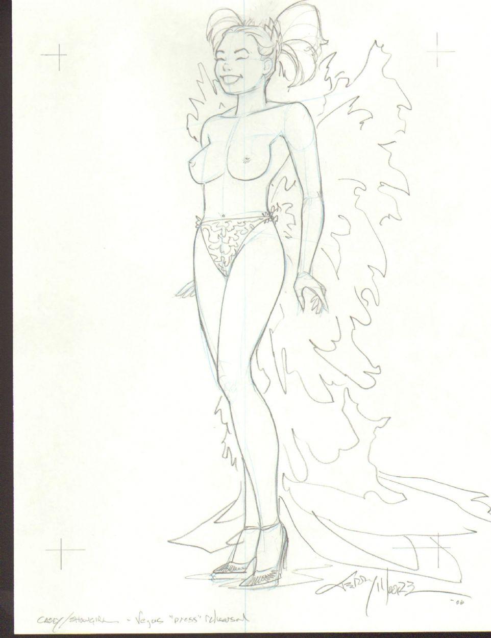 comic art gallery Nude