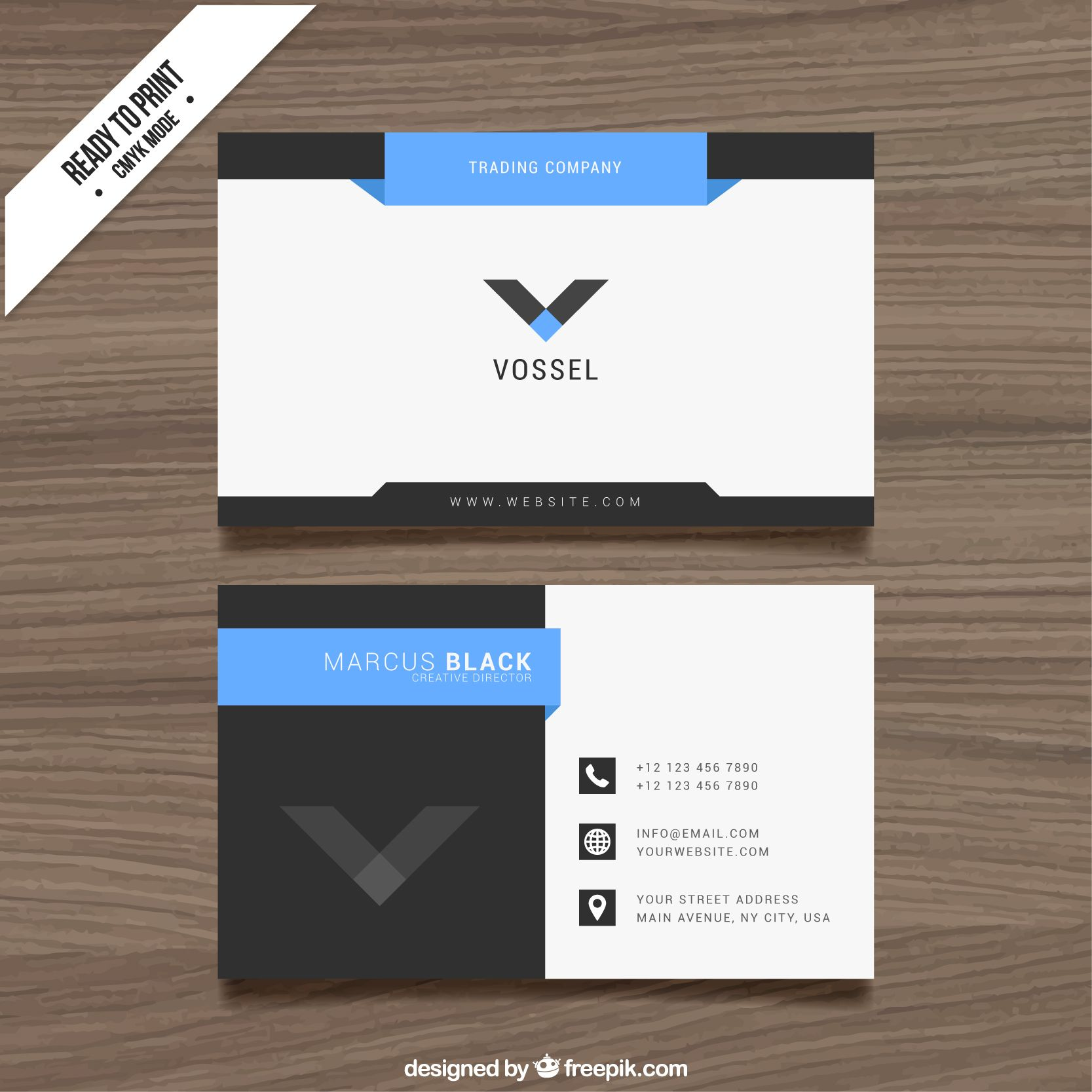 tarjeta de presentacion formal tarjetas presentacion
