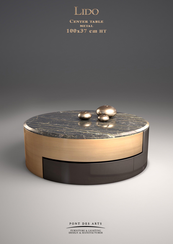 Lido center table Designer Monzer Hammoud Pont des Arts Studio