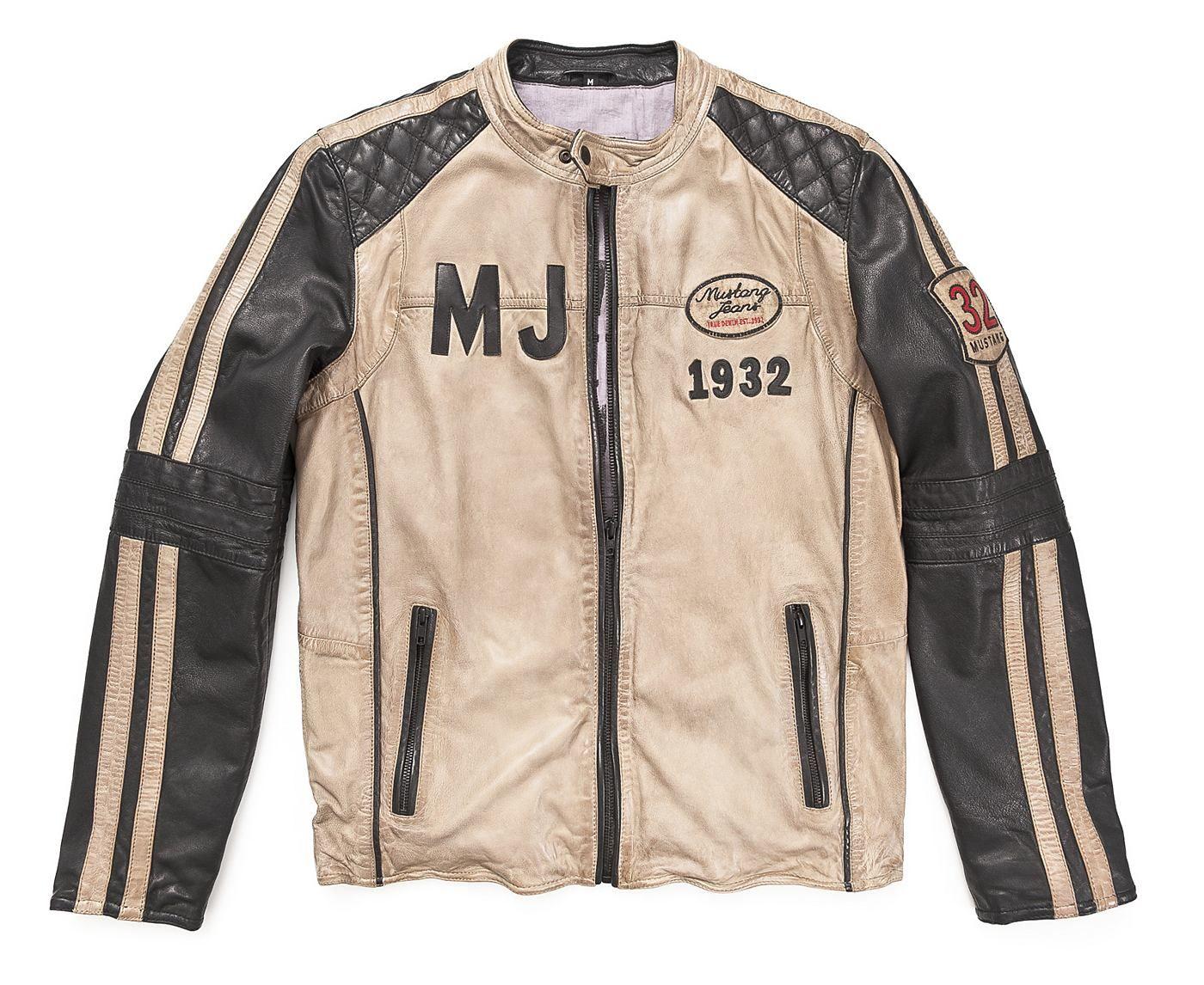 online store 3040d fa81f Mustang Lederjacke, Herren »Pedro« | 1111 | Lederjacke ...