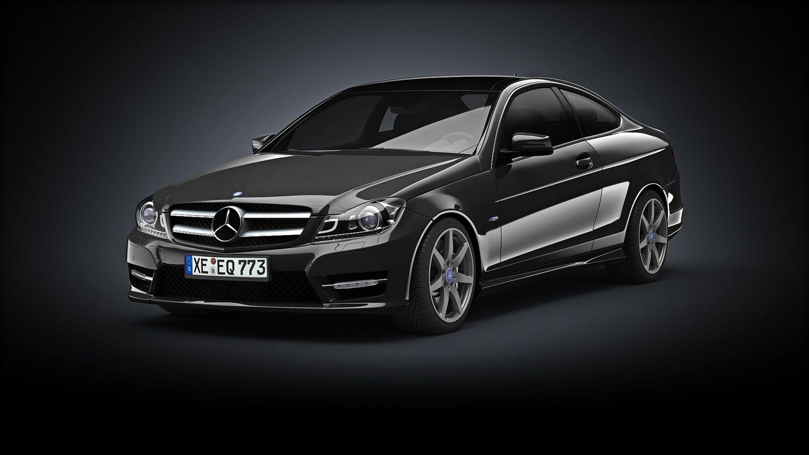 Mercedes C Class Coupe 2012 By Yavuzbattal Mercedes C Class