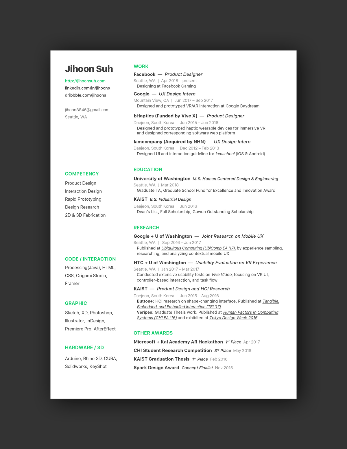 21 Inspiring Ux Designer Resumes And Why They Work Resume Design Resume Design Layout Resume