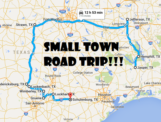 Take This Road Trip Through 10 Of Texas Most Picturesque Small