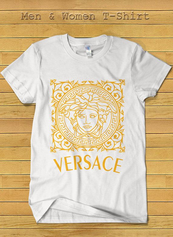 ce3ee4ee Versace Brand Fashion Tshirt for Women and Men Versace by TeeDays ...