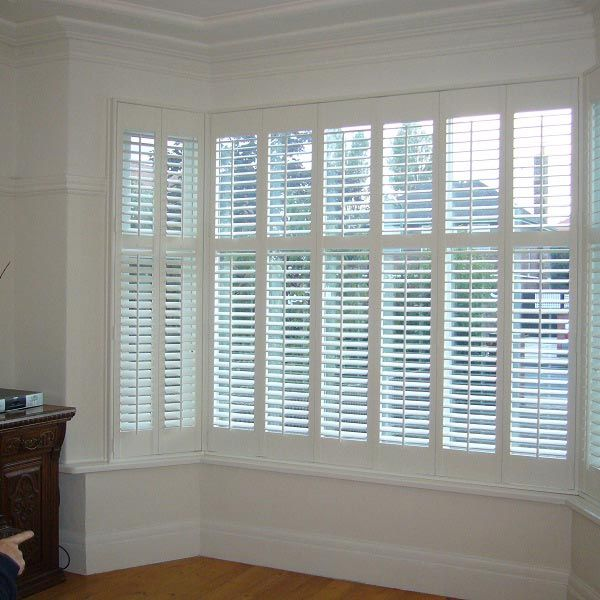 White Window shutters can be installed by Infinity Window Coverings