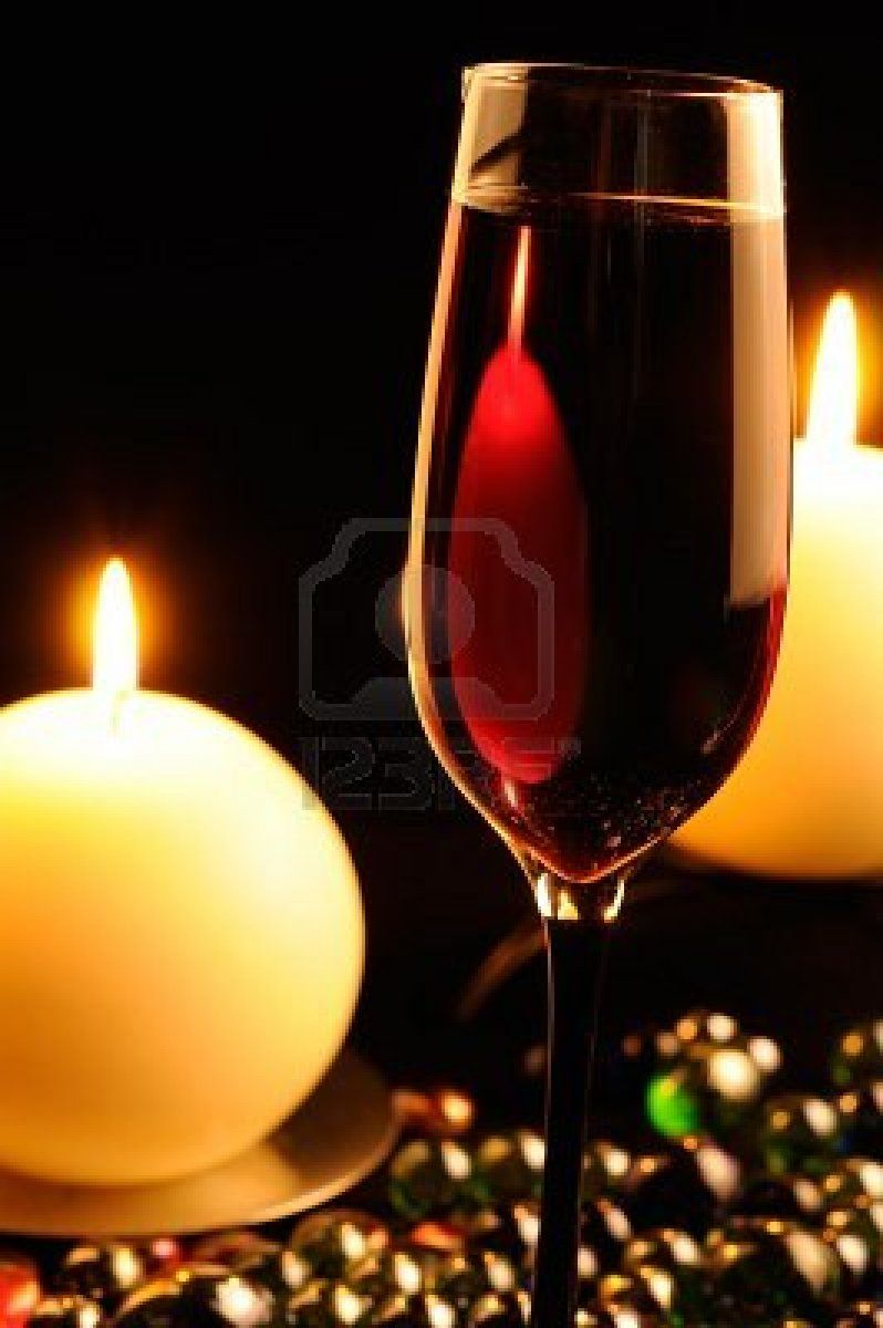 Romantic Dinner Glass Of Red Wine And Burning Candles Red Wine Wine Romantic Dinners