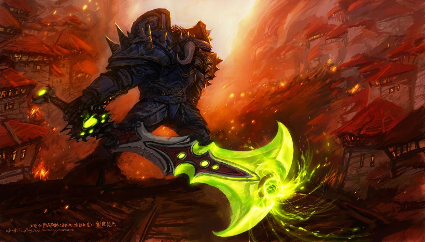 Illustration De Yaoren Wo World Of Warcraft Free Desktop Wallpaper Warcraft