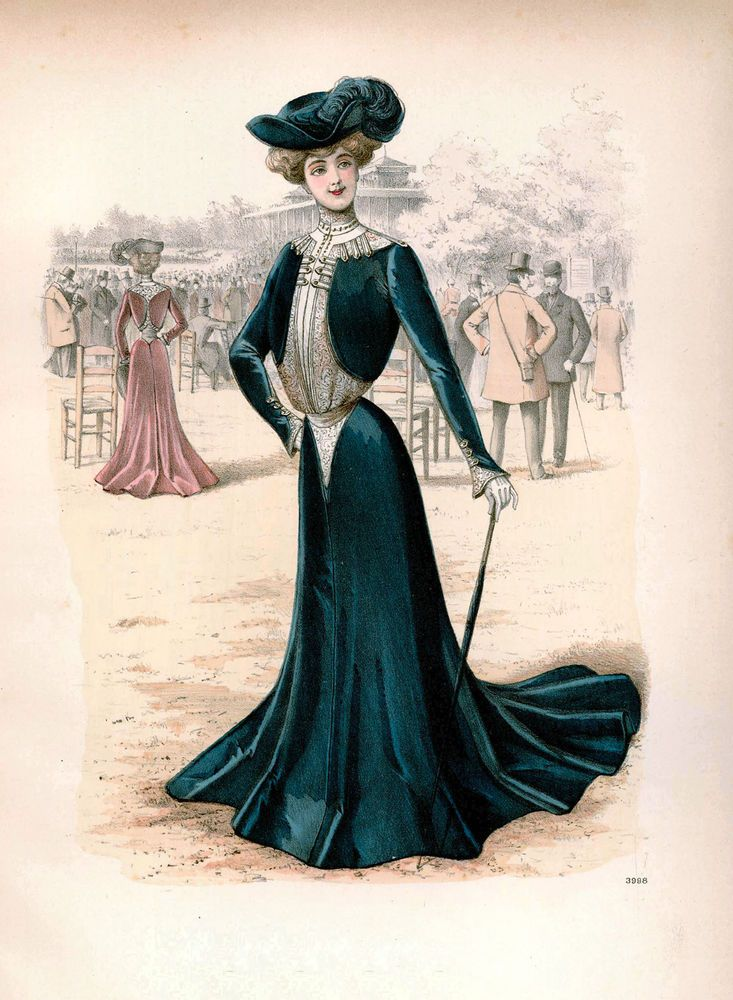 Elegant Victorian/Georgian Ladies Of Fashion Antique Style Prints Multi Sizes 29