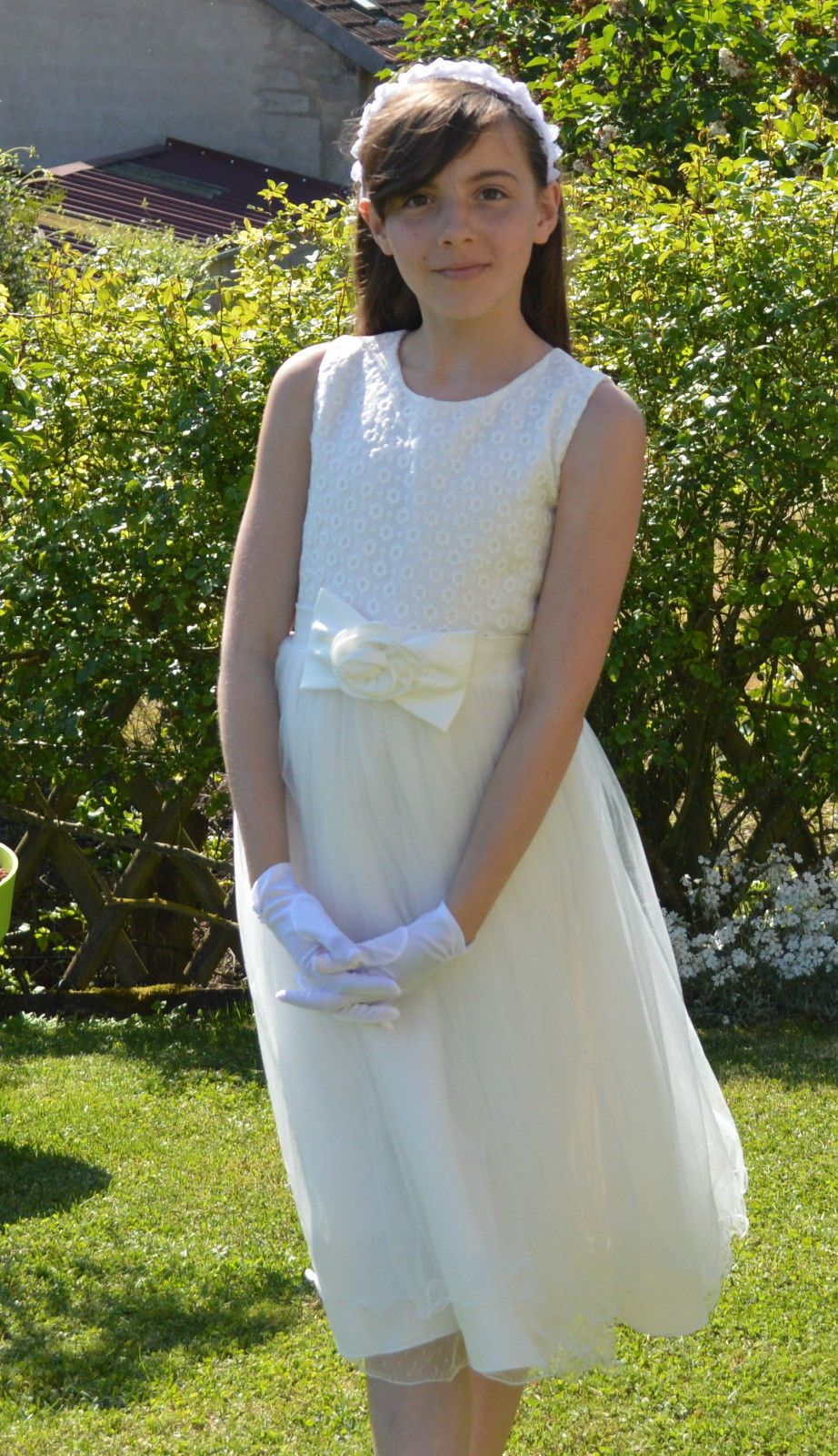 Robe cérémonie fille 14 ans mariage baptê