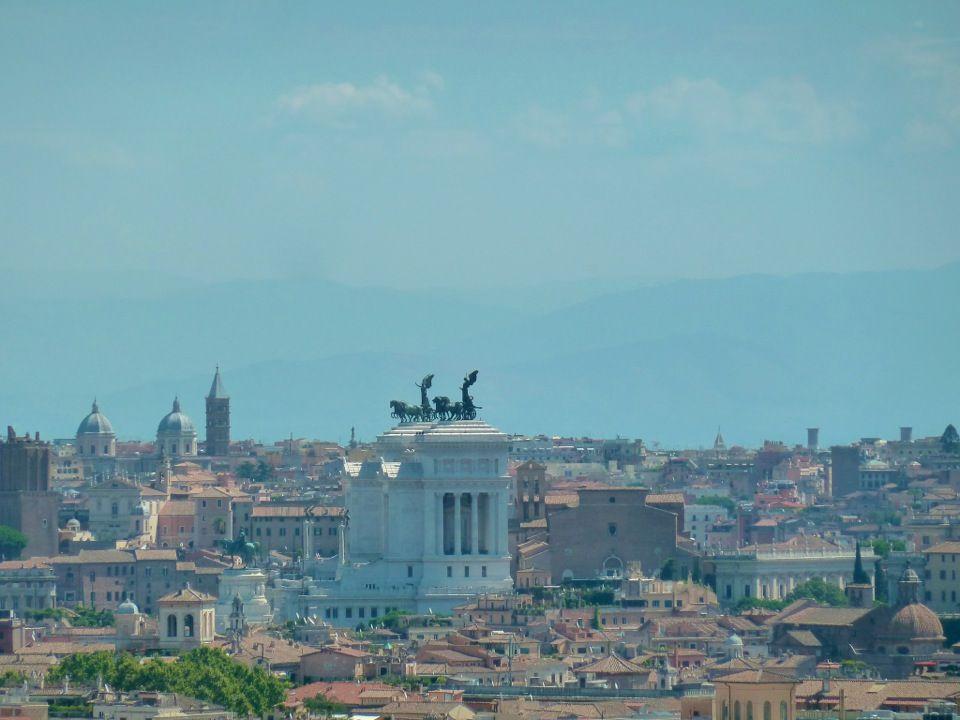Terrazza del Gianicolo w Roma, Lazio | The Eternal City | Pinterest ...