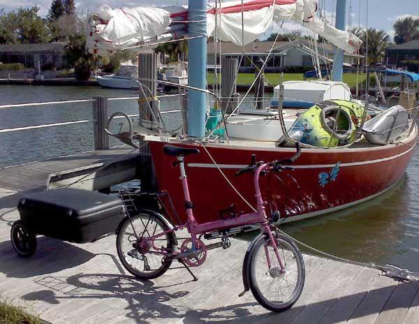Two Wheels Never Fail Her Bike Friday Pink Bike Bicycle