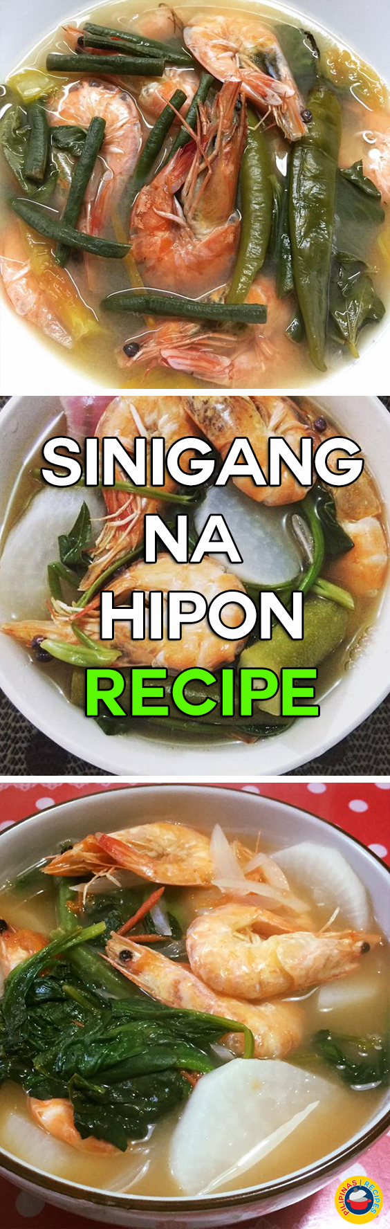 how to make sinigang na hipon