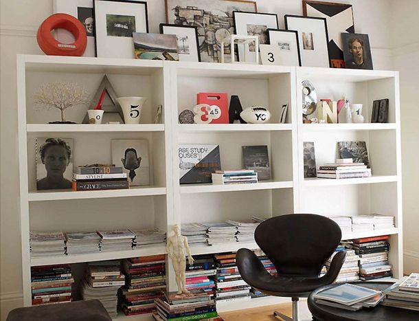 Decor Pad Bookcase Styling