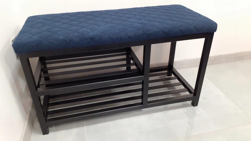 Siedzisko Z Polka Na Buty Pufa Industrial Loft Outdoor Furniture Outdoor Ottoman Outdoor Decor