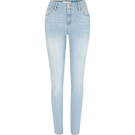 Light wash Amelie superskinny jeans - skinny jeans - jeans - women ...