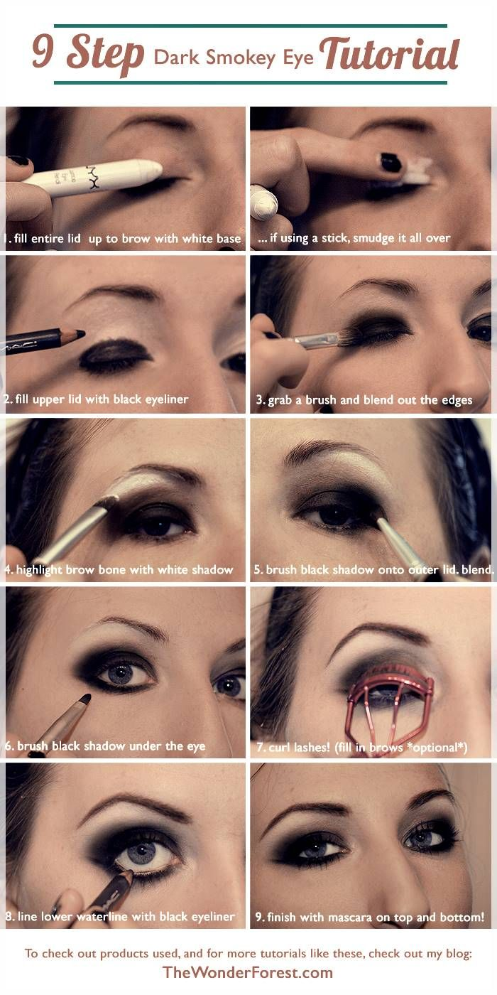 steps to apply makeup for beginners (with images) | dark