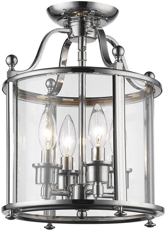 Z Lite 134sfm 4 Light Semi Flush Mount Wyndham Collection