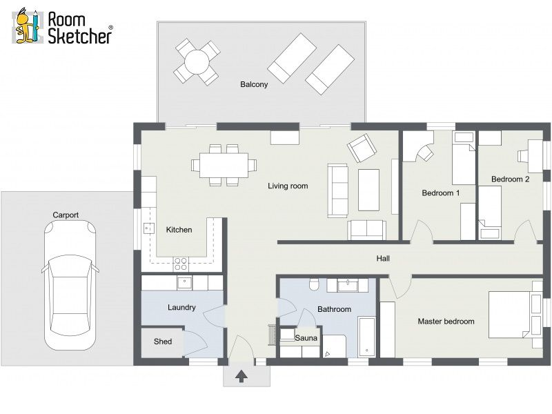 Need Floor Plans For Real Estate Property Listings Check Out Roomsketcher Floor Plan Services Get High Qualit Floor Plans Floor Plans Online Tiny House Cabin