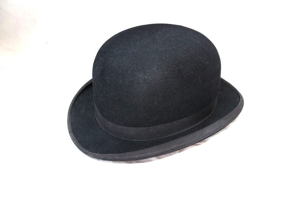 Antique victorian bowler hat G.A.Dunn   Co london circus steam punk derby 7  1 2  DunnCo  Bowler  any bed8034f4d23