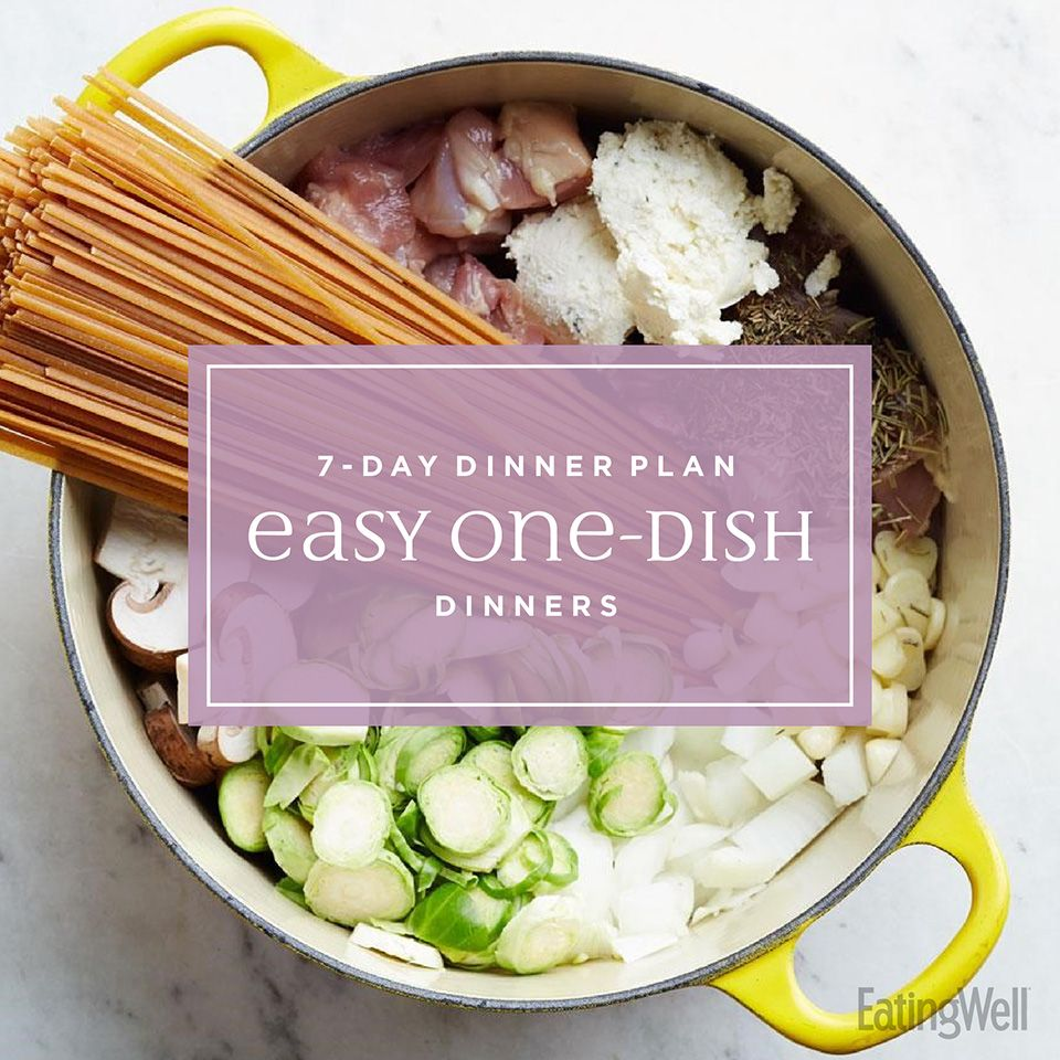 7-Day Meal Plan: Easy One-Dish Dinners images