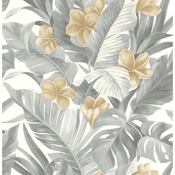 NuWallpaper Neutral Paradise Peel and Stick Wallpaper