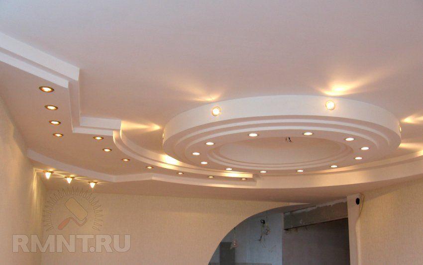 Дизайн и оформление потолка. 20 оригинальных фотоидей