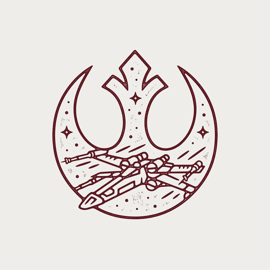 X-wing tattoo | Me Beauties | Pinterest | Alianza rebelde, Alianzas ...